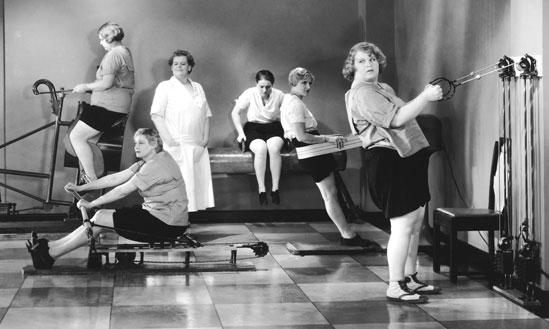 Аппараты Цандера для похудения